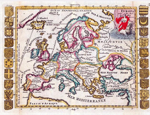 Europa 1706 De la Feuille