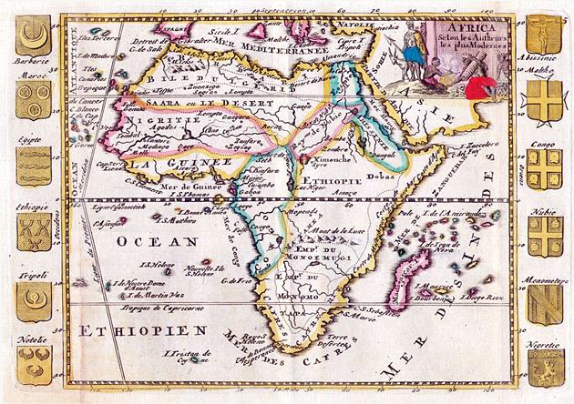 Afrika 1706 De la Feuille