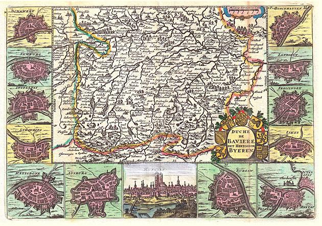Beieren 1747 De la Feuille