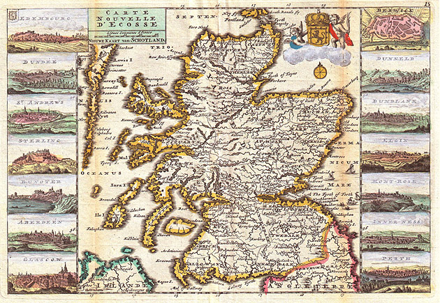 Schotland 1747 De la Feuille