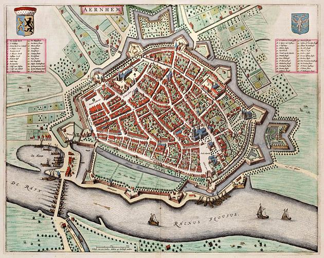 Arnhem 1649 Blaeu