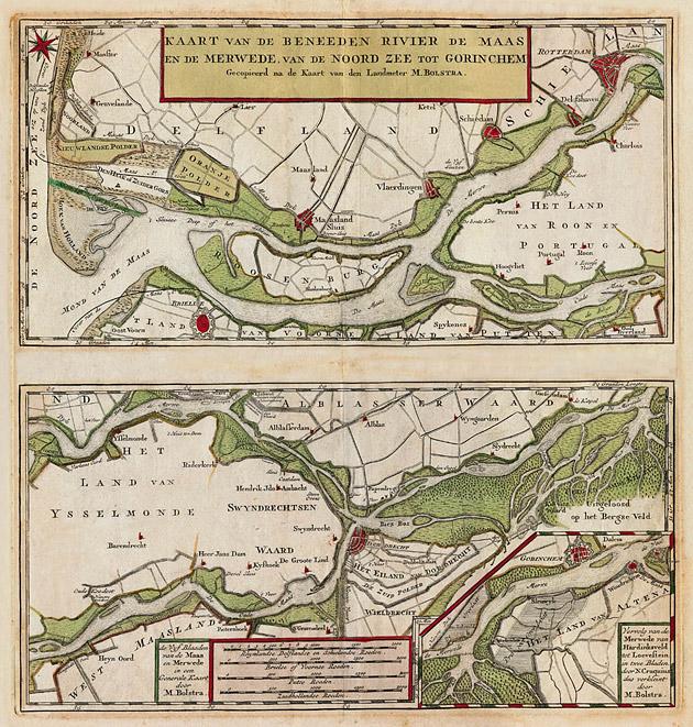 Beneden Merwede 1750