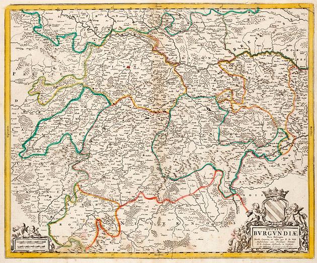 Burgundiae 1740 De Witte / Ottens