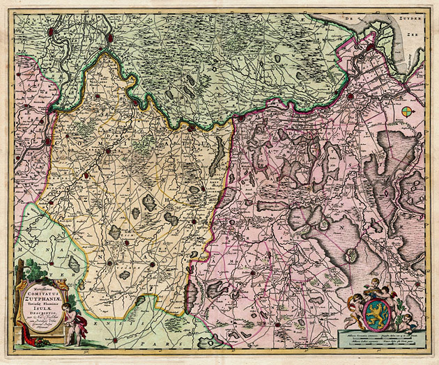 Comitatis Zutphania 1683 Nic.Visscher