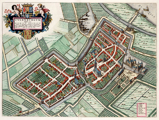 Culemborg 1649 Blaeu