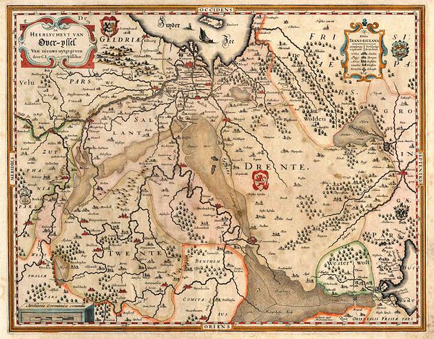 Heerlycheit Over-ijssel 1634 C.J.Visscher