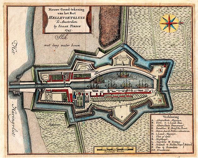 Hellevoetsluis 1745 Tirion