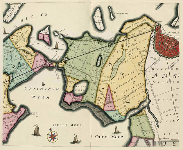Hoogheemraadschap Slooterdyck 1746 Bolstra