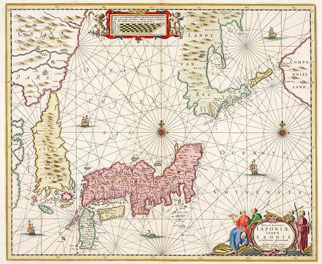 Japan 1652 Janssonius