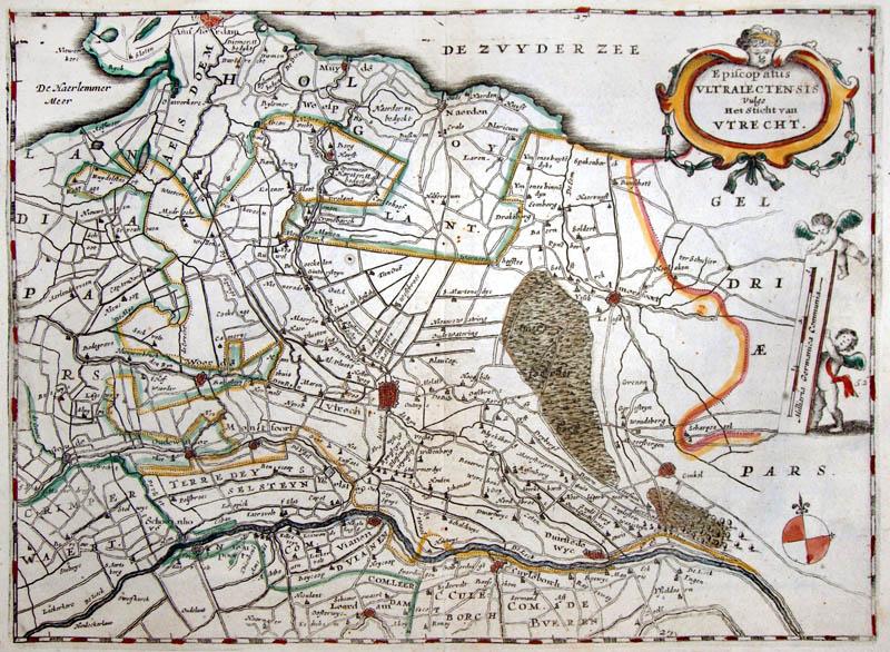 Utrecht 't Sticht 1660 Aertsen
