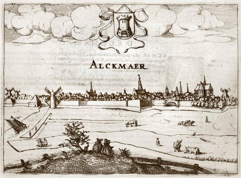 Alckmaer 1613 Janssonius