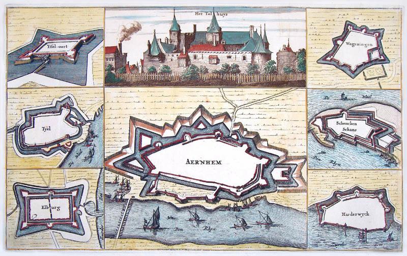 Arnhem + andere vestingen 1675 Bosch