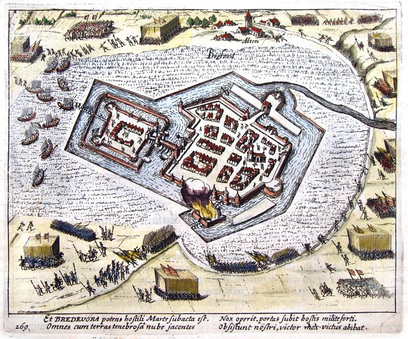 Vesting Bredevoort 1622 Baudartius