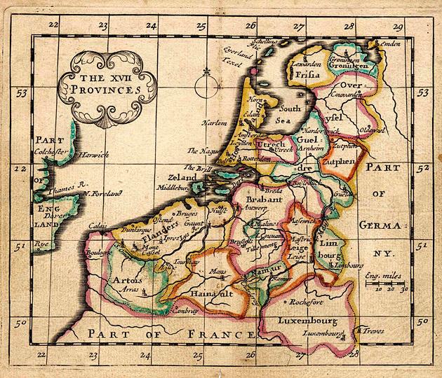 Nederland Zeventien Provincies 1684 Seller