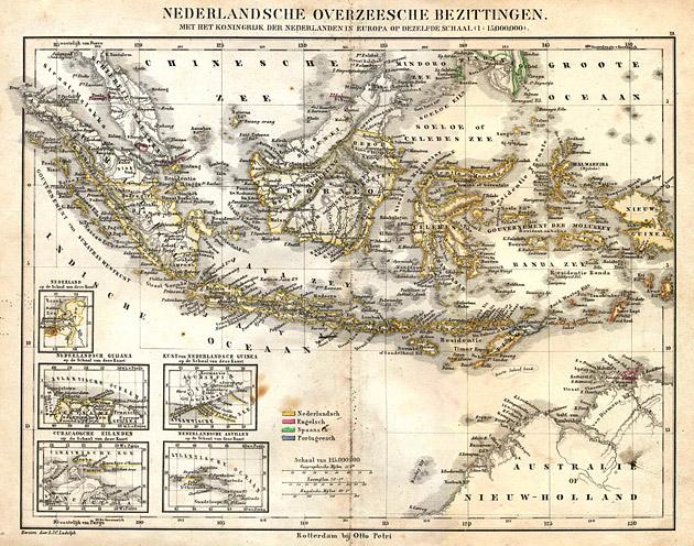 Nederlands Indië 1860 Petri