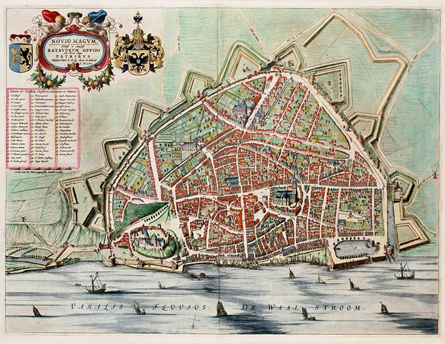 Nijmegen 1649 Blaeu
