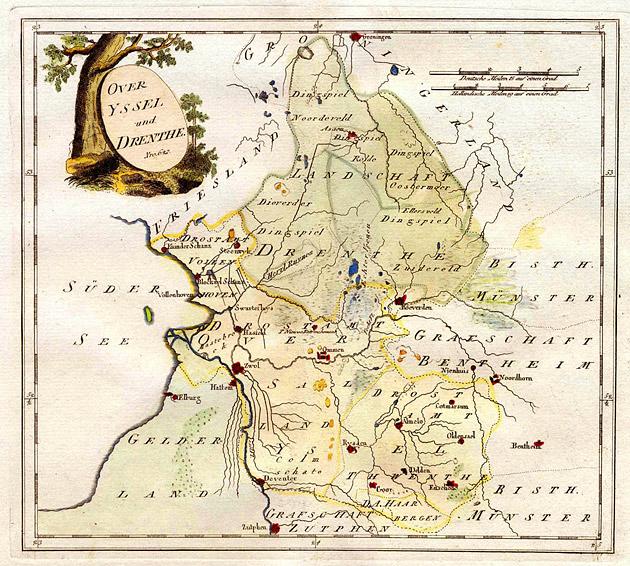 Overijssel-Drente 1791 Von Reilly