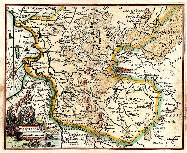 Overijssel 1692 Peeters Harrewijn