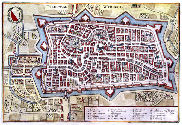 Utrecht 1647 Merian