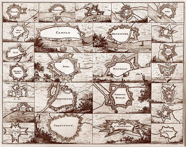 25 Vestingsteden 1672 Sijlvius