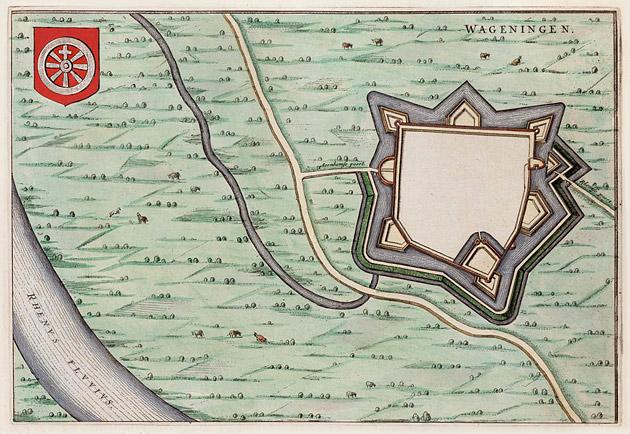 Wageningen 1649 Blaeu
